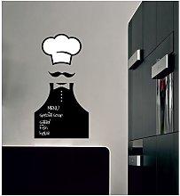 Lavagna Sticker - da Parete, Muro - Chef - per