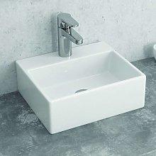 Lavandino bagno appoggio piccolo 34 cm litos-233