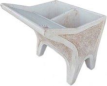Lavatoio da giardino in cemento decorato Mod. L07