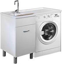 Lavatoio E Coprilavatrice 106x60x90 Cm Doris