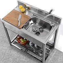 Lavelli da cucina in acciaio inox da appoggio