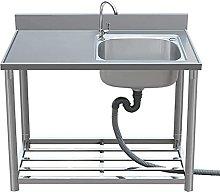 Lavello A Una Vasca Commerciale In Acciaio