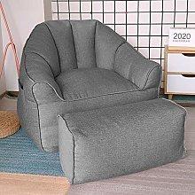 Lazy Sofa Pouf Pouf per camera da letto singola,