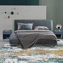 LBMTFFFFFF - Tappeto da salotto, colore: grigio