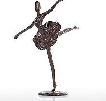 LBYLYH Balletto in Ferro battuto Figura Scultura