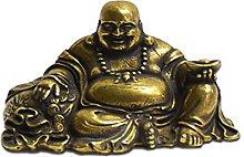 LBYLYH Pure Copper Tea Pet Retro Copper Maitreya