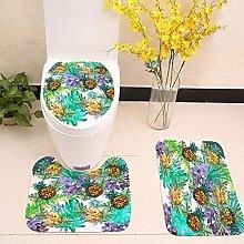 LDHHZ - Set di 3 tappetini da bagno con motivo