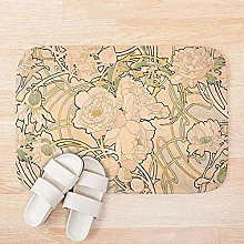 LDHHZ, tappetino da bagno in stile Art Nouveau