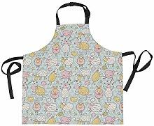 LDIYEU Cartone Animato Pecore Divertenti Cucina
