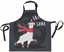 LDIYEU Neve Pecore Divertenti Cucina Grembiule