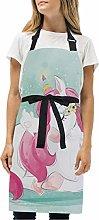 LDIYEU Rosa Simpatici Unicorno Coniglietti Cucina