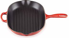 Le Creuset Bistecchiera in Ghisa, Ovale, 32 cm,
