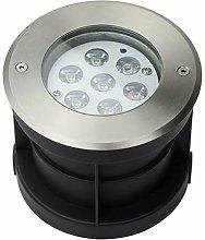 Leclubled - Faretto LED da esterno a incastro 7W