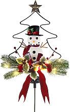 LED solare Hardware Albero di Natale Pupazzo di
