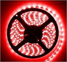 LED Striscia impermeabile 5m IP65 rosso