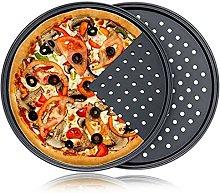 lefeindgdi - Teglia per pizza, antiaderente, in