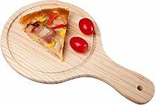 Legno Pizza tavola rotonda con la mano Pizza
