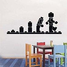 LEGO EVOLUTION Adesivo murale Adesivo murale