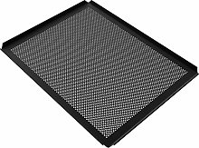 LEHRMANN teglia Forata 42,5 x 36 cm con