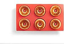 Lékué 0620406R01 - Stampo a 6 cavità Doughnut,