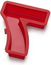 Lékué Celebrate Stampo per Torta, Numero 7, Rosso