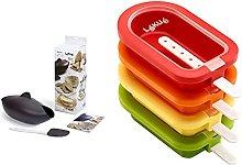 Lekue Kit Per La Preparazione Del Pane, Silicone,