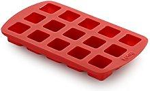 Lékué - Stampo per cioccolatini a forma di cubo,