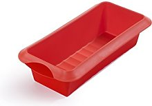 Lékué Stampo rettangolare, 24 cm, Rosso