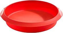 Lékué Stampo rotondo, 20 cm, Rosso