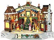 Lemax Piazza In Festa Per Celebrare Il Natale,