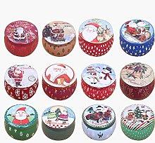 LEO565TOM box mini Babbo Natale pupazzo di neve
