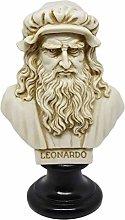 Leonardo da Vinci Busto di Personaggi Famosi -