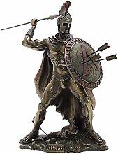 Leonidas, scultura greca del re spartano guerriero