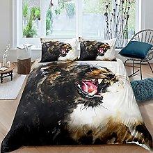 Leopardo Copripiumino Safari Ghepardo Set