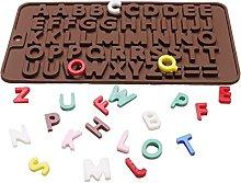 Lettera 3D Silicone Stampo Lettera Cioccolato