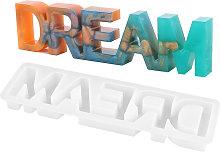 Lettera Dream Stampo in silicone Segno di parole