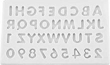 Lettere Forma Fare Stampi Stampo in silicone Candy