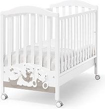 Lettino culla Erbesi per neonato, culle bambini in