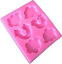 Leyeruk - Stampo in silicone con nuvole