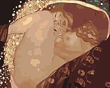 Lfczm Kit Pittura con Numeri Donna Nuda per Adulti