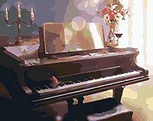 Lfczm Kit Pittura con Numeri Pianoforte per Adulti