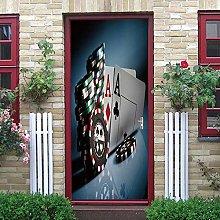 LGWERT adesivi per porta bagno Autoadesiva Adesivo