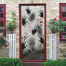 LGWERT adesivi per porte decorativi Autoadesiva
