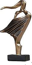 LGYKUMEG Statua di Dancing Moderna Carattere