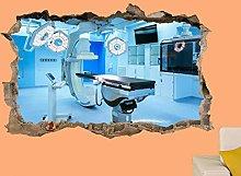 LHHYY adesivo murale Clinica medica Sala