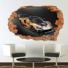 LHHYY adesivo murale Super British Racing Adesivo