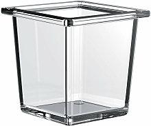 liaison glass bowl square per ringhiera, vetro