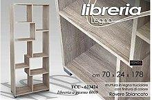 Libreria A Giorno Design Moderno 70X24X178Cm
