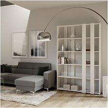 Libreria a parete modulare di medie dimensioni