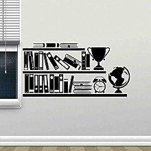 Libreria Decalcomania della parete Sala di lettura